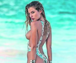 fenómeno viral bikini adhesivo