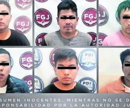 fiscalía logra detener seis secuestradores