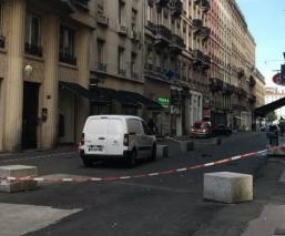 explosión en Lyon Francia