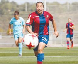 El gol de Charlyn Corral que fue elegido como el mejor en España