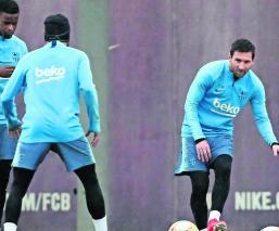 Tras eliminación de la Champions League el Barcelona buscará consuelo en la Copa del Rey