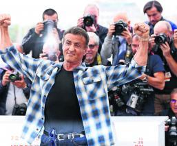 Sylvester Stallone Festival de Cine de Cannes