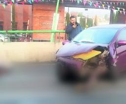 accidente muerto choque exceso de velocidad calimaya