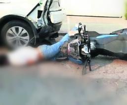 MOTOCICLISTA ACCIDENTE CHOQUE TEMIXCO