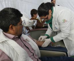 Donación de sangre México Día Mundial del Donante de Sangre