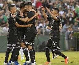 México aplasta a Cuba en Copa Oro