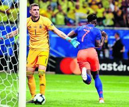 Copa de Oro Colombia vs Argentina Lionel Messi
