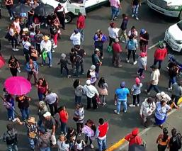 falta de agua habitantes Ecatepec