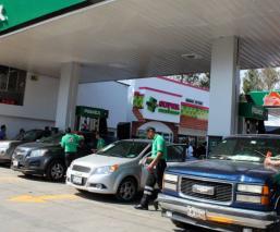Gasolinería Altos precios Banxico