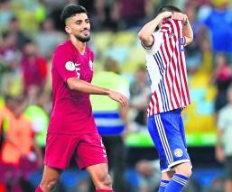 Paraguay Qatar empatan 2-2