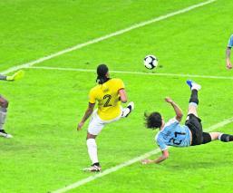 Uruguay presume su garra charrúa