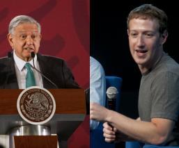 AMLO invita a Mark Zuckerberg a proyecto de conectividad en México