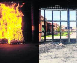San José Phaté Incendian vehículos Protestan vecinos Asesinato triple Jaripeo