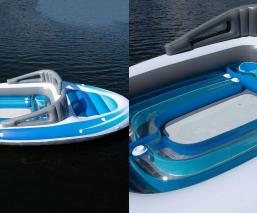 Llega el yate para pobres el barco inflable que está a la venta en Amazon