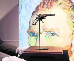 subastan venden arma pistola suicidio vincent van gogh parís francia