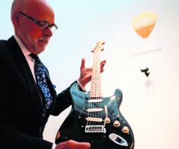 Christie's subastado colección guitarras