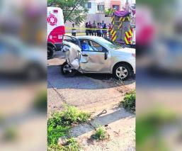 Joao Maleck acabó vida dos personas accidente