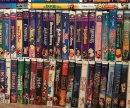 VHS Disney Películas en venta Cifras millonarias