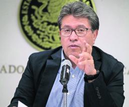 ricardo monreal senador senado de la república gabinete amlo presidente adversidad apoyo morena