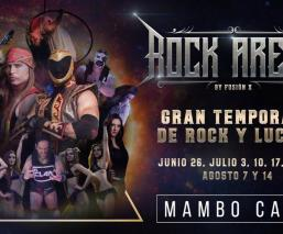 Rock Arena Mambocafé Lucha Libre CDMX