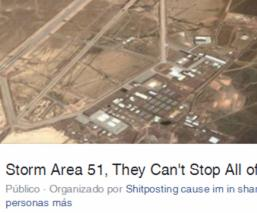 area 51 evento facebook extraterrestres