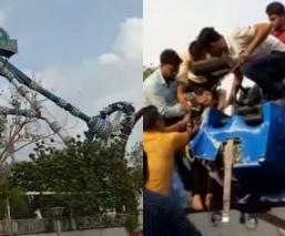 Juego mecánico Parque de diversiones India
