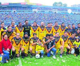juego de leyendas clásico joven Cuernavaca fútbol