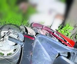 motociclista muere chocar estrellarse contra poste de luz cfe sin casco ixtapan de la sal
