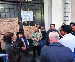 Trabajadores INAH paro nacional