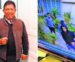 Juan Osorio revela video del violento asalto a su casa