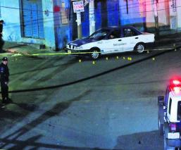 matan balazo taxi Morelos