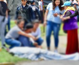 Tras asaltar puesto de comida muere durante enfrentamiento con policías en Ecatepec