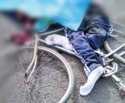 atropellado accidente tráiler chicoloapan le aplasta la cabeza arollado ciclista muere se da a la fuga