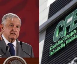Andrés Manuel López Obrador CFE Comisión Nacional de Electricidad telecomunicaciones, empresa pública