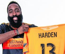 James Harden Rockets de Houston Liga Profesional de Futbol de Estados Unidos Houston Dynamo Hosuton Dash NWSL