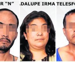 Guatemaltecos agresores Telésforo N Javier N Guadalupe N secuestro homicidio