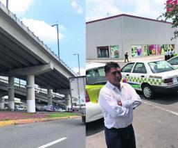 Toluca Estado de México taxistas Ocho Cedros Plaza Sendero robos Distribuidor Vial