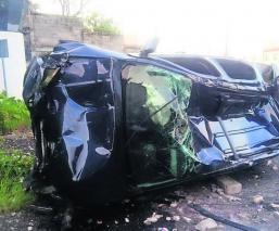 volcadura de camioneta en Morelos lideresa
