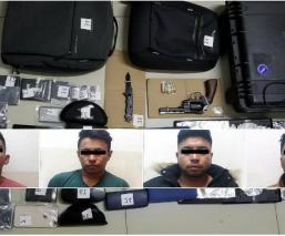 detenidos responsables ladrones asaltantes transporte público alumnos FES Acatlán
