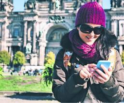 muro de berlín realidad aumentada dispositivo móvil app aplicación alemania