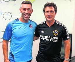 pedro caixinha entrenador timonel cruz azul partido leagues cup futbol galaxy