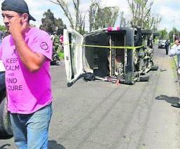 accidente deja saldo dos muertos y 10 heridos edomex