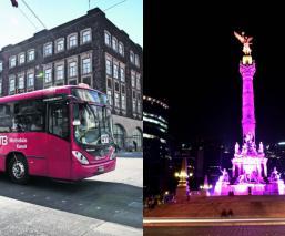 angel de independencia metrobus sin seguro cdmx protestas