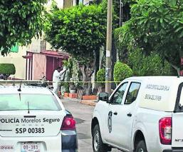 asesinan de dos tiros a dueño de negocio morelos
