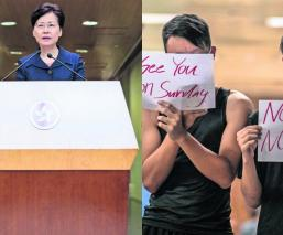 carrie lam líder hong kong manifestantes rechazan diálogo inconformes china