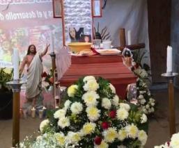 mujer asesinada policias la paz estado de mexico velorio