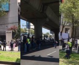 policias federales bloquean periferico sur norte guardia nacional