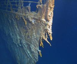 titanic fotografía 14 años