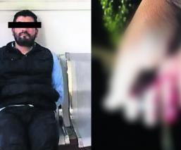 presunto funcionario muerde a policia detenido cdmx
