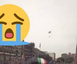 paracaidista desfile militar accidente corregidora cdmx marino